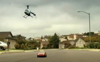 Video: Drifting Down Wisteria Lane In A Remote-Controlled Nissan Sentra SE-R