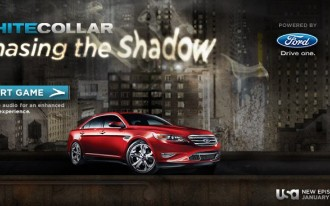 Another Ford Marketing Coup: 2010 Ford Taurus Featured In 'White Collar' Game