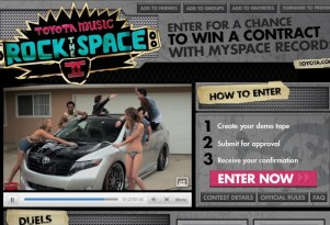 Toyota Brings A Battle Of The Bands To MySpace (Yes, It's Still There)