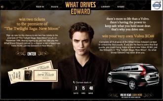 Volvo Targets Tweens In Twilight: New Moon