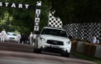 Sebastian Vettel's First Drive Of His Custom Infiniti FX