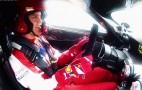 Sebastian Vettel Drives The Ferrari FXX K: Video