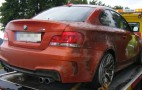 Second BMW 1-Series M Coupe Crashed