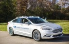 Fusion Hybrid again used for latest Ford autonomous test vehicle