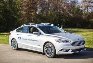 Fusion Hybrid again used for latest Ford autonomous test vehicle