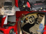 Seized replica Ferraris - Image: Spanish National Police