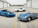 Selection of Porsches from the Jerry Seinfeld collection - Image via Gooding & Company