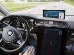 Self-driving test vehicle built by ZF