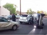 Self-driving Uber prototype involved in a crash in Tempe, Arizona