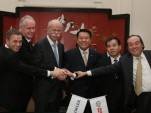 Senior executives from Daimler and BAIC