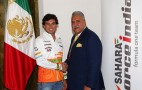 Force India boss arrested in London