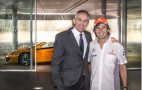 Sergio Perez's First Day At McLaren: Video