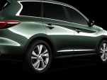 Seventh Infiniti JX concept teaser image
