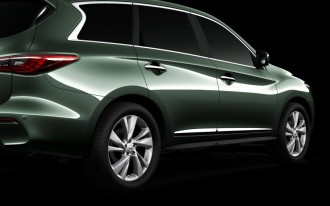 2013 Infiniti JX Concept: Final Teaser Photo Of Luxury Family Crossover