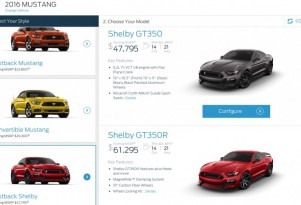 Shelby GT350 Mustang Pricing