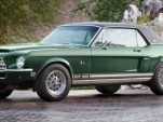 Shelby's 'Green Hornet' Mustang - image courtesy of Barrett-Jackson