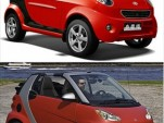 Shuanghuan Noble vs. Smart fortwo
