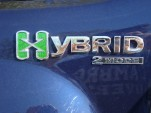 Silverado Hybrid Badge