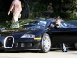Simon Cowell and his Bugatti Veyron