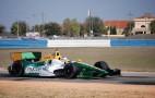 Lotus HVM INDYCAR Racing Team Tests Own Car At Sebring