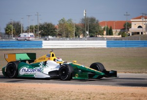 Simona de Silvestro tests at Sebring - Lotus HVM Racing photo