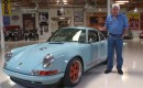 Singer Porsche 911 driven in Jay Leno's Garage