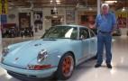 Singer Porsche 911 Roars Into Jay Leno's Garage: Video