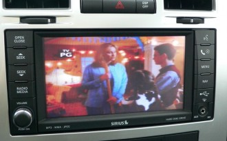 Even On A Chrysler 300C SRT8, Sirius Backseat TV Is For Kids