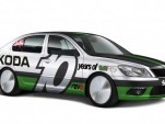 Skoda Octavia vRS Bonneville record car