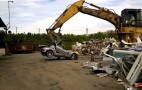Excavator Callously Destroys Mercedes-Benz SLS AMG: Video