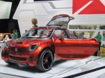 Smart Forstars Concept: Paris Auto Show Live Photos