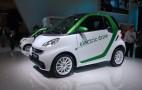 2012 Smart Fortwo Electric Drive: Frankfurt Auto Show