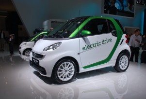 2012 Smart Fortwo Electric Drive: Frankfurt Auto Show