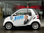 Smart ForTwo envisioned as NYPD traffic enforcement car