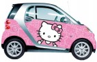 Would You Want Hello Kitty On Your Car--Forever?