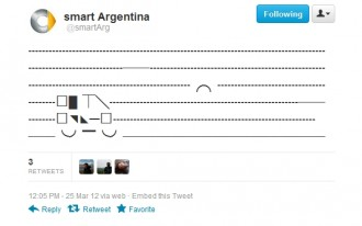 Smart Of Argentina Gets Clever On Twitter