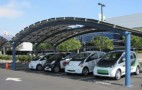 Mitsubishi Joins The Crowd, Unveils Solar Charging Station At HQ