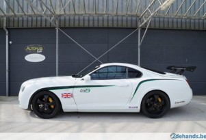 Someone turned a Toyota Supra into a replica Bentley GT3 R