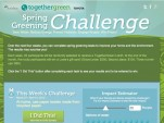 Spring Green Challenge Facebook App
