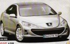 Spy Shots: 2008 Peugeot 608