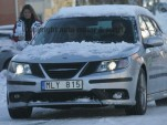 Spy Shots: 2008 Saab 9-3 facelift