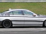 Spy Shots: 2009 BMW 7-series at the Nurburgring