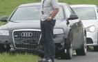 Spy shots: 2011 Audi A7 test mule crashes at Nurburgring