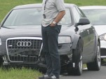 Spy shots: 2011 Audi A7 test mule crashes at Nurburgring