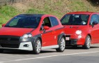 Spy Shots: Fiat's Abarth Punto And 500 Hot Hatches
