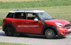2016 MINI Traveller MPV Test Mule Spy Shots