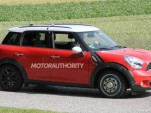Spy shots of a test mule for a MINI Traveller MPV or next-gen BMW X1