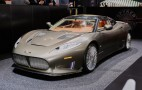 Spyker C8 Preliator bows with Audi V-8, 525 hp