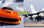 SRT Viper Races F-16 Viper Fighter Jet: Video