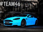 Starpath UV Painted Aston Martin